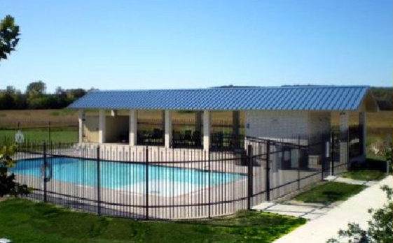 Beau Village Cottages in New Braunfels, Texas Swimming Pool