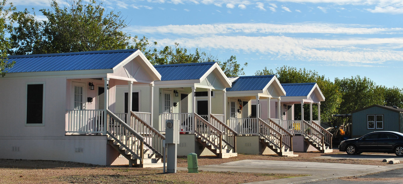 Beau Village Cottages in New Braunfels, Texas
