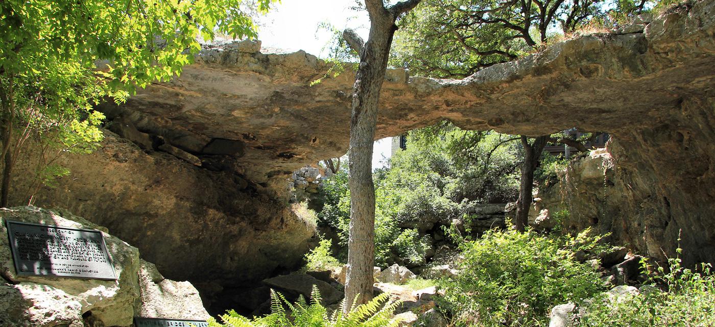 Natural Bridges Caverns in New Braunfels, Texas